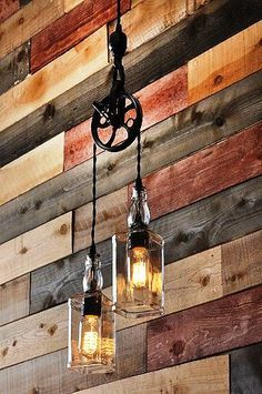 Pulley Pendent Light