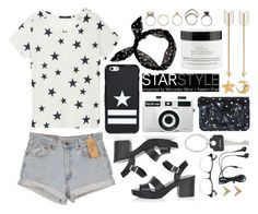"""""""Lucky star"""" by rheeee ❤ liked on Polyvore featuring GANT, Levi's, Givenchy, Topshop, Holga, Zatchels, LYRALOVESTAR, Paul Smith, Iosselliani and ASOS"""