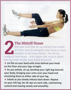 Midriff toner, plussome other great ones for each part of the body!