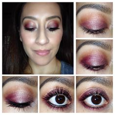 Fall eye makeup using @coastalscents  Revealed 2 palette #revealed2 #coastalscents #makeup #beauty #fall #autumn #fallmakeup #bbblogger #beautyblog #plum #easymakeup #eyeshadow makeup eye shadow eye makeup
