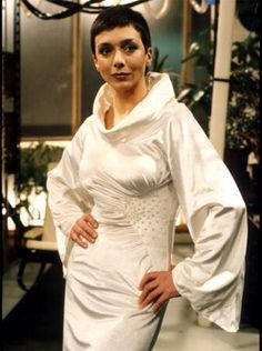 Jacqueline Pearce as Servalan. Blakes 7 Shown in UK on BBC not sure if shown anywhere else in the world? Classic sci-fi on a very low budget. Best Sci Fi Series, Sci Fi Tv Shows, Bbc Tv, Sci Fi Movies, Classic Tv, Celebs, Celebrities, Science Fiction, Mad Science