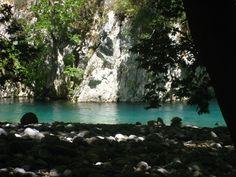 Aoos river in the beautiful Zagori