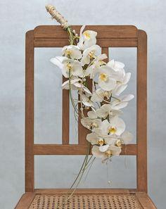 - Brautstrauß Inspirationen Weiß Orchideen