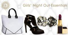 Girls Night out Essentials Alexander McQueen Giorgio Armani Tom Ford