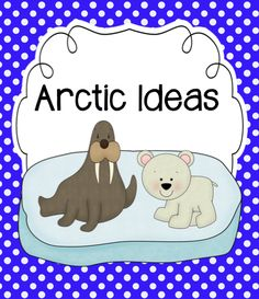 Arctic ideas perfect for winter lesson plans plus FREE printable! Animal Activities, Language Activities, Therapy Activities, Classroom Activities, Winter Activities, Therapy Ideas, Educational Activities, Teaching Themes, Teaching Science