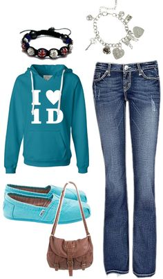 """1D lazy outfit"" by erika-quinn on Polyvore"