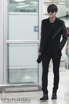Lee Minho airport fashion