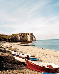 Long a favored resort of the Parisian elite, the Côte Fleurie, on France's northern coast, is she...