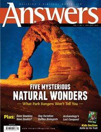 Answers magazine for kids. A magazine about the TRUTH in science.