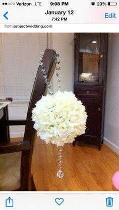 Cute idea for bridesmaids bouquet!