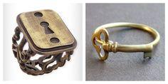 Lock & Key rings.