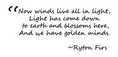 #poet #quote Ryton Firs
