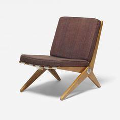 Scissor chair / Pierre Jeanneret