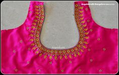 Hand Embroidery Patterns For Neck Neck Embroidery Side Neck Embroidery Designs Hand Embroidery. Hand Embroidery Patterns For Neck 41 Beautiful Embroid. Kids Blouse Designs, Simple Blouse Designs, Bridal Blouse Designs, Blouse Neck Designs, Mirror Work Blouse Design, Simple Embroidery Designs, Pattu Saree Blouse Designs, Designer Blouse Patterns, Hand Embroidery