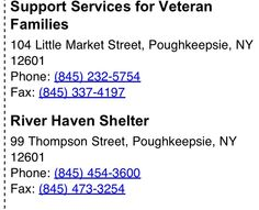 adult in ny poughkeepsie shelter