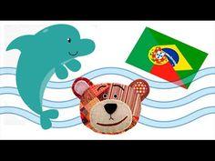 Sea animals for kids in portuguese