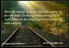 I am inspired by the quote and the gorgeous landscape.