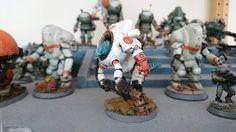 Lizardman Tau Commander Sausia