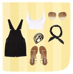 """""""just a summer thing"""" by vanya-forever on Polyvore featuring Chloé and Monki"""