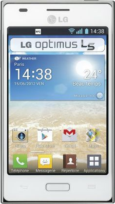 LG Optimus L5 - Smartphone libre Android B0086CU0F4 - http://www.comprartabletas.es/lg-optimus-l5-smartphone-libre-android-b0086cu0f4.html