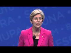 YOU GO ELIZABETH! AFL-CIO 2013 Convention: Sen. Elizabeth Warren Addresses the Delegates