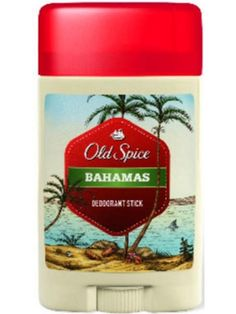 OLD SPICE 60ml Bahamas Antyperspirant w sztyfcie  • zapewnia ochronę przez cały dzień • sprawdza się w każdej sytuacji • daje uczucie świeżości • niezobowiązująca męska nuta zapachowa