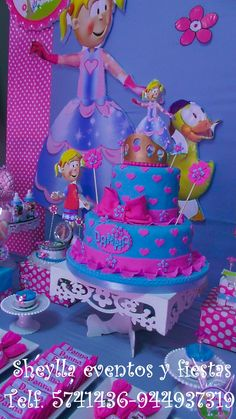 Torta, Biper, Flopy, Princesa