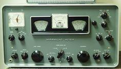 Hammarlund HQ-180A receiver.
