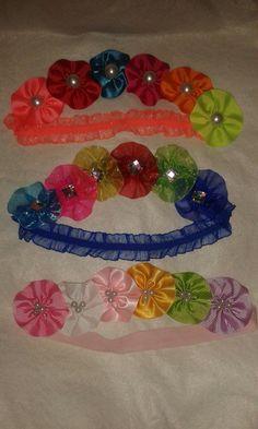 Coronas de flores para bebés
