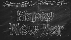Free Happy New Year Chalkboard Art Happy New Year Hd, Happy New Year Banner, Happy New Year Images, New Year Greeting Cards, New Year Greetings, Happ New Year, New Years Poster, Chalk It Up, Bullet Journal Inspo