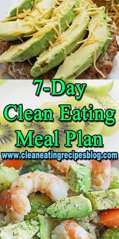 Clean Eating Meal Plan - 7 Day | Clean Eating Diet Plan Meal Plan and Recipes