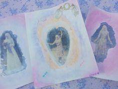 a magic angelic art blog post: http://alicewonderland2.blogspot.co.uk/2016/03/the-magic-love-angelic-art-project.html #mixedmedia #art #jessiedunne #alicesolantaniasaga #lindaportman #magic #angelic #love