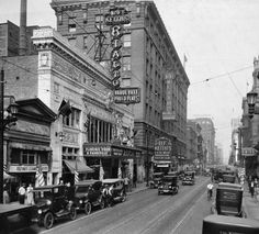600 Block of Fourth Street looking north, Louisville, KY, 1924