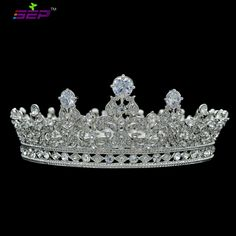 High Quality Full Round Crown Flower Queen Tiaras Headbands Wedding Bridal Hair Accessories Rhinestone Crystal CZ Zircon SHA8709-in Hair Jewelry from Jewelry & Accessories on Aliexpress.com | Alibaba Group