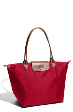 Beautiful Deep red tote! Perfect to carry things at the beach! Follow us on #facebook: https://www.facebook.com/westfieldvalleyfair