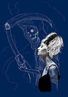 Death & Susan by DarthArsis