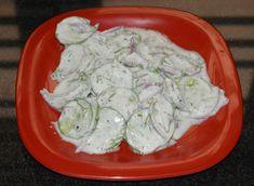 How to Make Creamy German Cucumber Salad in Ten Minutes
