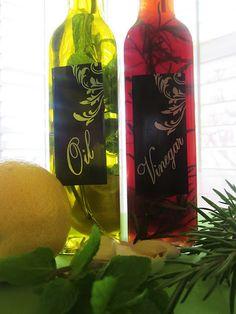 Herb Infused Oil & Vinegar