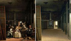 """Spanish artist José Manuel Ballester has given us a rather unique new way to look at classic paintings with his new series """"Hidden Spaces."""" In it, he digitally alters works by artists such as Leonardo da Vinci and Francisco Goya by removing their human protagonists."""