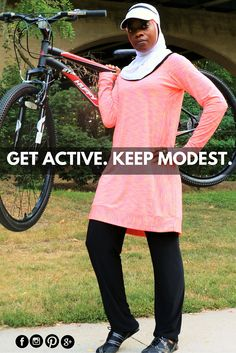 Ready for a new #workout look? Up. The. Intensity. With LiaWear Action's Long Sleeve Quick Dry workout tee. #modest #activewear #sport #hijab #exercise #fit #muslimah https://www.facebook.com/media/set/?set=a.1061873843831542.1073741834.201607973191471&type=3