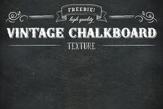 Vintage Slate Chalkboard Texture