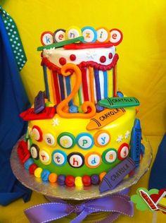 Crayols cake