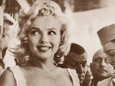 she had that flirting smile that would disarm even the toughest of men.... Marilyn Monroe
