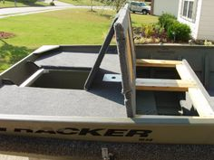 5 Most Critical Components To Your Boat Building Plans - Tools And Tricks Club Bass Boat Ideas, Floating Boat Docks, Duck Blind Plans, Wooden Speed Boats, John Boats, Flat Bottom Boats, Free Boat Plans, Duck Boat, Boat Projects