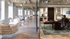 For the talent agency's Manhattan office, Rockwell Group borrowed cues from hospitality to create a warm and inviting space that appeals to staff and clients alike.