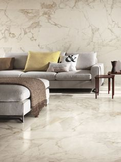 Living Room Modern, Living Room Designs, Living Room Decor, Marble Furniture, Furniture Design, Tile Bedroom, Living Room Flooring, Floor Design, House Rooms