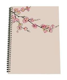 A5 Notepad - Japanese Flowers - New Holland Publishers