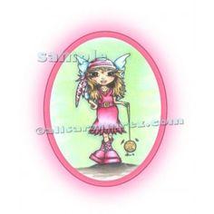 Sofia The Pirate Fairy Digi Stamp 2009 AlisaRamirez