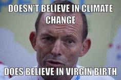 Infographic about Tony Abbott.