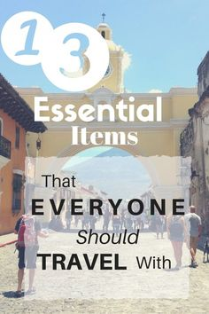 13 Essential Items That Everyone Should Travel With